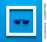 minimalism. masterpiece in... | Shutterstock . vector #1100857583