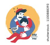 """father embracing his son. """"dad... 