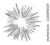 explosion vector illustration.... | Shutterstock .eps vector #1100896529