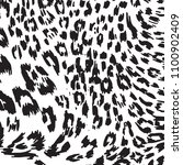 animal skin leopard pattern in...   Shutterstock .eps vector #1100902409
