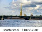 saint petersburg skyline from... | Shutterstock . vector #1100912009