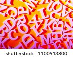 letters of the english alphabet.... | Shutterstock . vector #1100913800