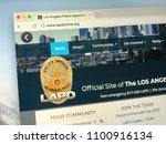 Small photo of Amsterdam, Netherlands - May 28, 2018: Website of The Los Angeles Police Department (LAPD), officially the City of Los Angeles Police Department, the police department of Los Angeles.