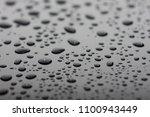 macro drops on a black... | Shutterstock . vector #1100943449
