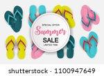 abstract vector illustration... | Shutterstock .eps vector #1100947649