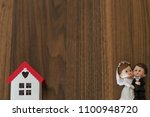 real estate and mortgage... | Shutterstock . vector #1100948720