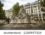 budapest  hungary  july 8  2015 ... | Shutterstock . vector #1100957324