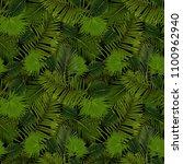 illustration of seamless... | Shutterstock .eps vector #1100962940