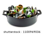 Mussels In A White Wine And...