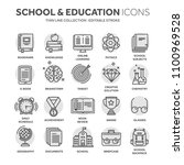 school education  university.... | Shutterstock .eps vector #1100969528