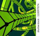 future scientific texture | Shutterstock . vector #110097074