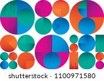 abstract colorful seamless... | Shutterstock .eps vector #1100971580