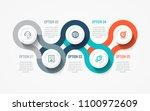 vector infographic label design ... | Shutterstock .eps vector #1100972609