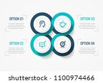 vector infographic label design ... | Shutterstock .eps vector #1100974466