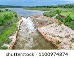 norden chute on niobrara river... | Shutterstock . vector #1100974874