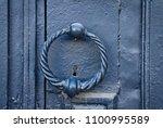 Iron Antique Door Handle In The ...