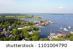 chesapeake bay with boats st... | Shutterstock . vector #1101004790