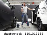 car wrapping specialist ready... | Shutterstock . vector #1101013136