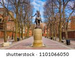 boston  massachusetts  usa at... | Shutterstock . vector #1101066050
