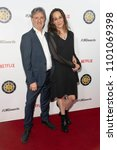 Small photo of Rino Pace, Laeta Kalogridis attend 5th Annual Location Managers Guild International Awards at Alex Theatre, Glendale, CA on April 7th, 2018