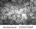 dark silver  gray vector blurry ... | Shutterstock .eps vector #1101073469