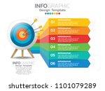 6 step of timeline infographics ... | Shutterstock .eps vector #1101079289