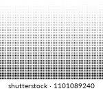 vector halftone texture | Shutterstock .eps vector #1101089240