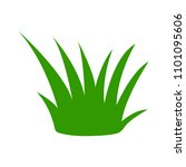 vector green grass illustration ... | Shutterstock .eps vector #1101095606