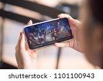 bangkok  thailand   may 29 ... | Shutterstock . vector #1101100943