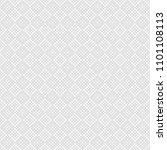 seamless pattern of rhombuses.... | Shutterstock .eps vector #1101108113