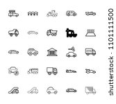 automobile icon. collection of...   Shutterstock .eps vector #1101111500