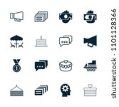 pictograph icon. collection of... | Shutterstock .eps vector #1101128366