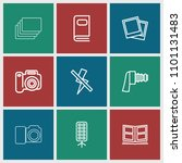 photograph icon. collection of...   Shutterstock .eps vector #1101131483