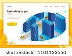 vector concept illustration   ... | Shutterstock .eps vector #1101133550