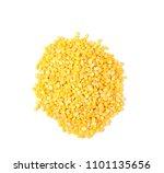 split mung bean on white... | Shutterstock . vector #1101135656