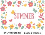 vector illustration with... | Shutterstock .eps vector #1101145088