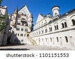schloss neuschwanstein  new...   Shutterstock . vector #1101151553