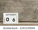 white block calendar present... | Shutterstock . vector #1101153044