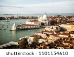 aerial view of venice  italy... | Shutterstock . vector #1101154610