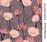 abstract elegance pattern with... | Shutterstock .eps vector #1101159770