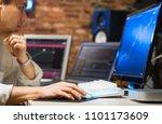 asian handsome business man... | Shutterstock . vector #1101173609
