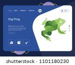quality one page big frog...