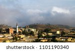 aerial view to asmara  the... | Shutterstock . vector #1101190340