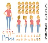 set character people vector... | Shutterstock .eps vector #1101191693