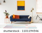 Blue And Orange Painting...