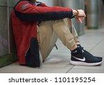 milan  italy   february 10 ... | Shutterstock . vector #1101195254