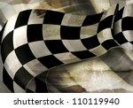 background horizontal checkered ... | Shutterstock .eps vector #110119940