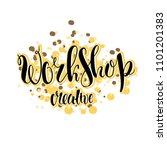handdrawn vector lettering.... | Shutterstock .eps vector #1101201383