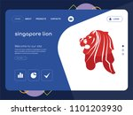quality one page singapore lion ...
