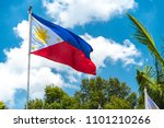 philippines national flag... | Shutterstock . vector #1101210266